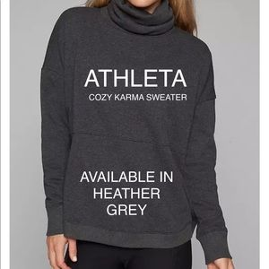NWT ATHLETA COZY KARMA SWEATER